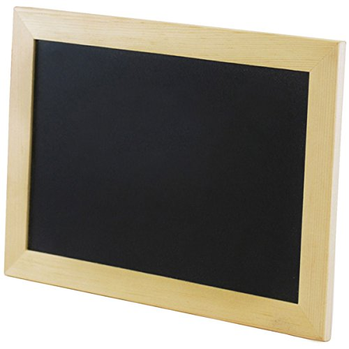 Multicraft Imports Chalkboard Frame with Stand, 9-Inch by 6.25-Inch - 1