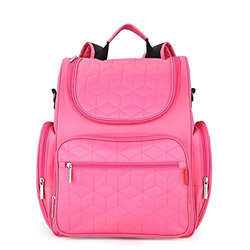 Yoovi Mummy Diaper Nappy Tote Bag Backpack