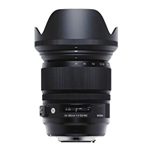 Sigma 635101 24-105mm F 4.0 DG OS HSM Zoom Lens for Canon EF Cameras