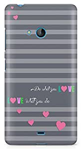 Lumia 540 Back Cover by Vcrome,Premium Quality Designer Printed Lightweight Slim Fit Matte Finish Hard Case Back Cover for Lumia 540