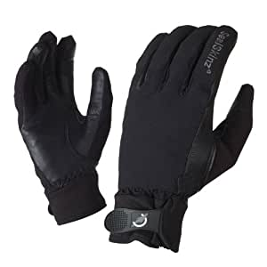 SealSkinz Women's All Weather Riding Gloves - Black, X-Small