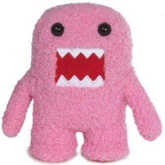 """Domo 10"""" Plush - Pink Domo-kun"""