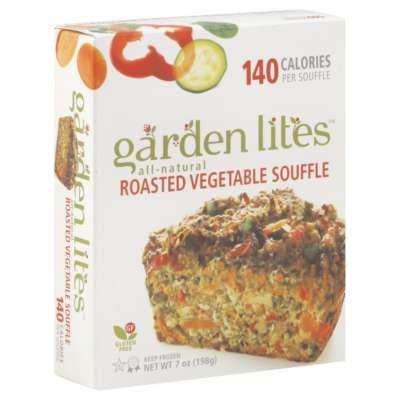 Garden Lites Roasted Vegetable Souffle, 7 Ounce -- 12 Per Case.