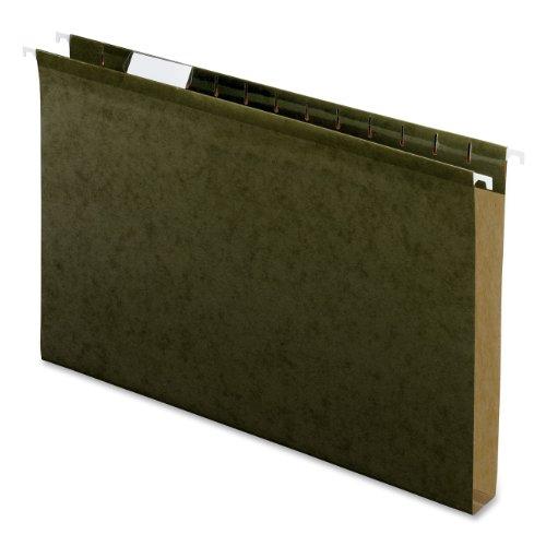 Pendaflex Hanging Box Bottom Folder, Standard Green, Legal, 25 per Box (04153X1)