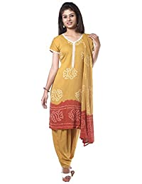 NITARA Women's Cotton Stitched Salwar Suit Sets - B01AJK64HS
