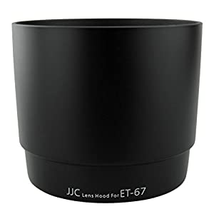 JJC replacement Canon ET-67 Lens Hood for CANON EF 100mm f/2.8 Macro USM