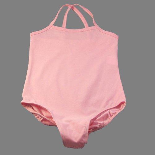 reflectionz Little Girls Pale Pink Sleeveless Ballet Dance Gymnastics Leotard 2-8