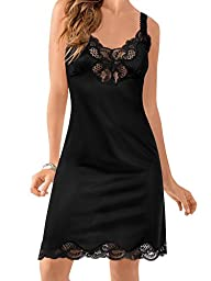 Ilusion Lace Trim Full Slip