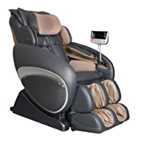 Osaki OS-4000 Zero Gravity Massage Chair Charcoal Recliner S-track With Remote