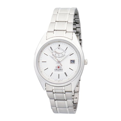 Orient Men's CFD0001W Automatic Power Reserve White Stainless Steel Watch