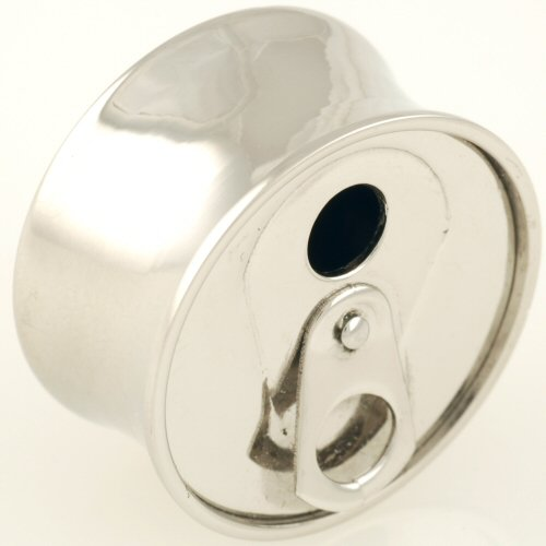 One Stainless Steel Double Flared Can Plug: 3/4