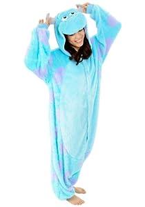 Sulley Kigurumi - Adult Costume