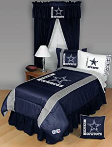 NFL Dallas Cowboys - 4 pc BEDDING SET - Twin/Single Size