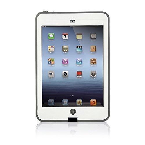 iPad Mini 1/2/3防水ケース 防塵 耐衝撃 IP68防水等級(2m深さまで)(iPad Mini 1/2/3, ホワイト) [並行輸入品]