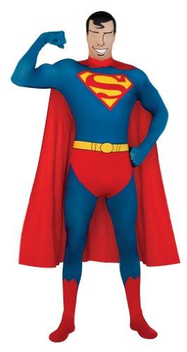 Costume travestimento Superman tuta adulto taglia M