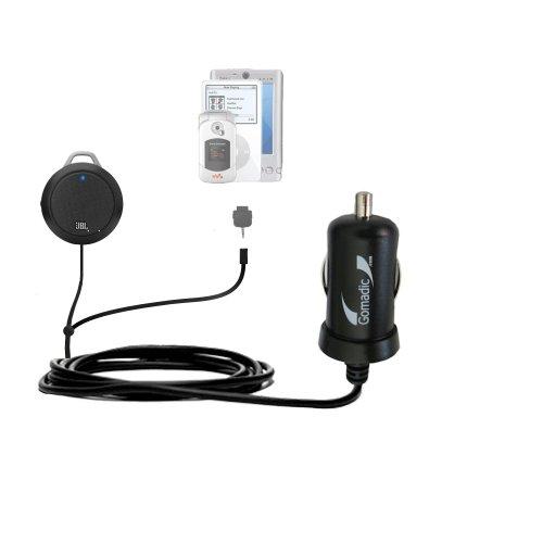 Gomadic Dual Dc Vehicle Auto Mini Charger Designed For The Jbl Micro Ii - Uses Gomadic Tipexchange To Charge Multiple Devices In Your Car