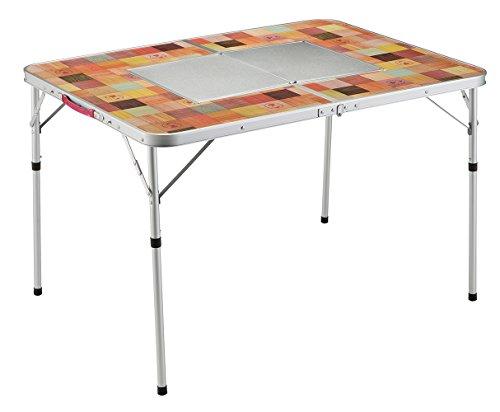 コールマン テーブル ナチュラルモザイクBBQテーブル/110プラス