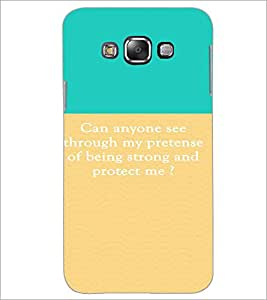 PrintDhaba Quote D-4215 Back Case Cover for SAMSUNG GALAXY GRAND 3 (Multi-Coloured)