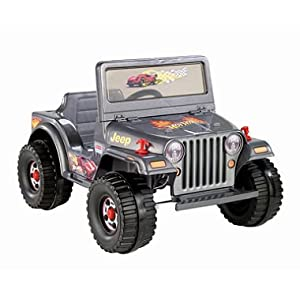 Power Wheels Hot Wheels Charcoal Jeep