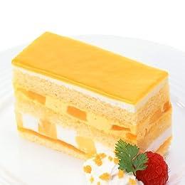 [フレック] 凍ったまま食べる! フローズンケーキ マンゴー【冷凍】