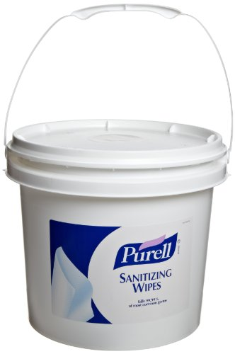 Purell 9117-01 Sanitizing Wipes (Bucket Of 1,200) front-1033228
