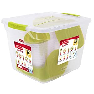 Rubbermaid Take Alongs 60 Piece Set Including Lids