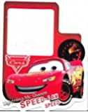 LIGHTNING McQUEEN 'glow in the dark' WALL LIGHT SWITCH STICKER / COVER SURROUND