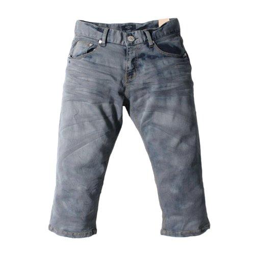 Mens Washing Slim Shorts Jeans (JW713)