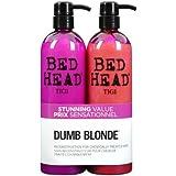 Colour Combat - The Dumb Blonde System de TIGI Bed Head Hair Care Shampooing 750 ml et apres-shampooing 750 ml 750ml