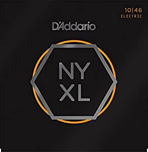 D'Addario NYXL1046 Regular Light 10-46 Electric Guitar Strings