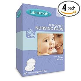 Lansinoh乳垫Disposable Nursing Pads,4盒降至24.36美元,S&S购买仅$23.14美元