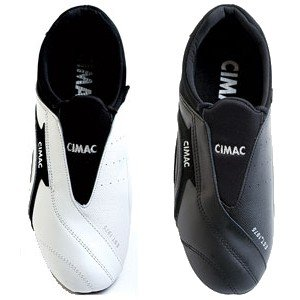 Cimac Martial Arts Slipon Shoes - Unisex, 3 uk, Black [Apparel]