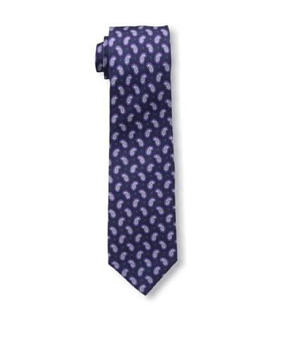 Ben Sherman Men's Fall Pine Tie, Navy