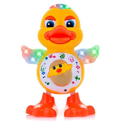 Musical Dancing Toys Duck Lights Action Kids Music Toys for Kids Batteries Included