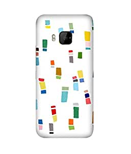 Crayon Colours HTC One M9+ Case