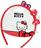 Hello Kitty Fabric Bow Headband (Red)