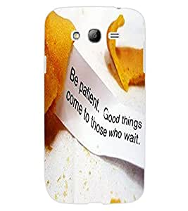 ColourCraft Inspirational Quote Design Back Case Cover for SAMSUNG GALAXY GRAND NEO PLUS I9060I