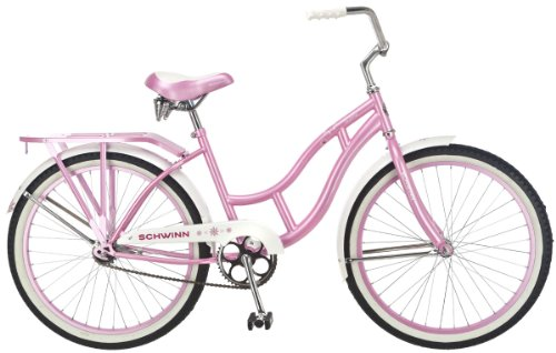 Schwinn Destiny 24-Inch Cruiser Bicycle,Pink (24 Beach Cruiser Rims compare prices)