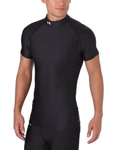 Under Armour Herren Sweatshirt EU CG Short Sleeved Evo Mock, schwarz (1), S (SM)