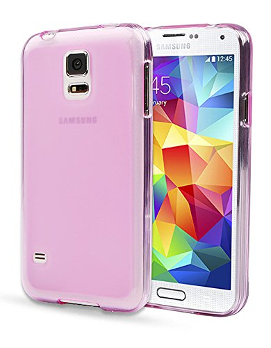 S4 Case, Samsung Galaxy S4 Case, Mobile Soft Jelly Case (At&T, Verizon, Sprint, T-Mobile) - Retail Package, Tpu, Pc, Light, Grip, Clear For S Iv I9500 (Baby Pink)