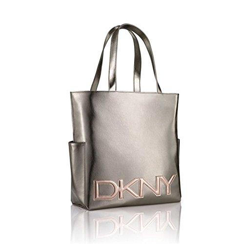 dkny-metallic-ladies-large-tote-handbag-shopper-bag-with-rose-gold-logo