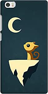 DailyObjects Moon Cat Case For Xiaomi Mi Note