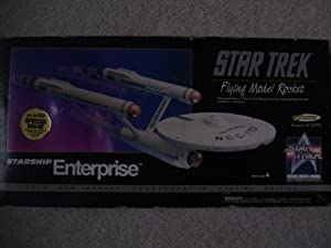 Star Trek Flying Model Rocket