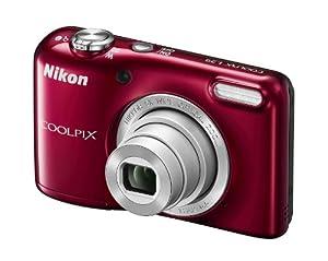 """Nikon Coolpix L29 Appareil photo numérique compact 16,4 Mpix Écran LCD 2,7"""" Zoom optique 5X Rouge"""