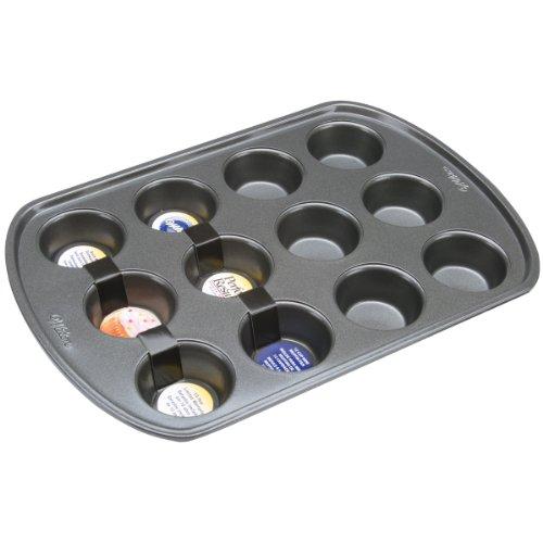 Wilton 2105-6787 Perfect Results Nonstick 12-Cup Mini Muffin Pan (Mini Cupcake Pan 12 compare prices)
