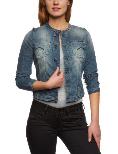 G-Star Raw Attacc Dnm Women's Jacket Medium Aged Large