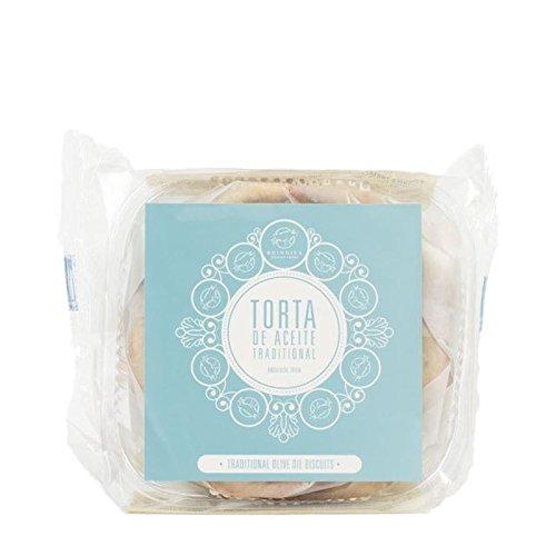 Brindisa Olive Traditionnelle Biscuits À L'Huile 180G - Paquet de 6