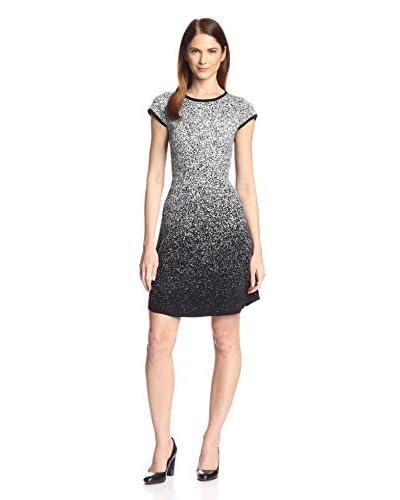 London Times Women's Ombré A-Line Dress