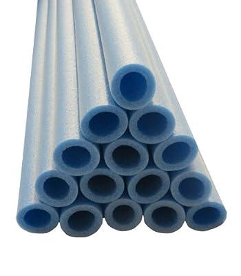 Upper Bounce Trampoline Pole Foam Sleeves Fits for 1.5-Inch Diameter Pole, Blue