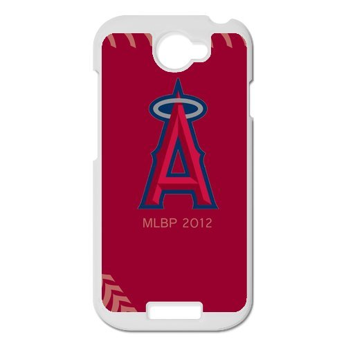Generic Cell Phone Cases Cover For Htc One S Case Fashionable Designed With Baseball Team Los Angeles Angels Background Personalized Case